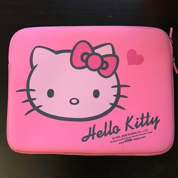 5500579b6 Hello Kitty Accessories - Hello Kitty Pink Laptop Case